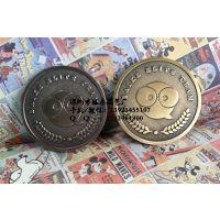 锌合金纪念章定做 企业活动纪念币生产厂家