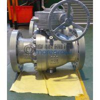 摩根Q347N-600LB蜗轮法兰软密封球阀