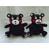 厂家批发直销招福系列日本和风招财猫黑白熊情侣摆件挂饰