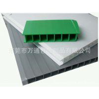 厂家供应苏州箱包专用内衬塑料隔板、多种颜色pp防静电瓦楞板。