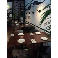 上海拉蒂娜意大利餐厅桌子椅子 意大利餐桌椅定制 上海韩尔家具厂