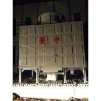 供应河南菱宇100吨方形横流式冷却塔