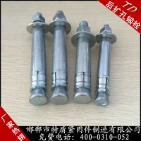 现货供应特盾重型锚栓重型后扩底锚栓
