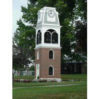 康巴丝塔钟 建筑墙钟 学校外墙挂钟 大学塔钟