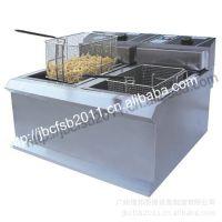 供应锦邦品牌902双缸电炸炉/油炸锅/电炸锅,8.5L902炸炉/小吃设备