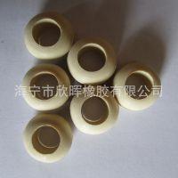 阻燃环保硅橡胶单双面电源线白色出线圈 电机配电箱线缆护线环