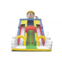 卧龙供应 小规格小丑扮相主题城堡 小丑滑梯