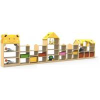 供应邛崃幼儿园家具玩具柜松木原材