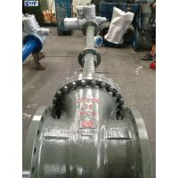 锻钢电动加长杆高温闸阀,上海良工阀门,高温高压电动电站闸阀