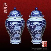 景德镇千火陶瓷软装陶瓷装饰罐