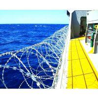 【新疆欧利特】厂家直销优质低碳钢丝制成船舶防海盗BTO-22双螺旋刀片刺网