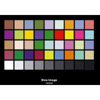HDTV色彩还原测试图卡,评估高清摄像机的色彩还原