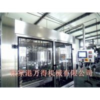 供应BCGF玻璃瓶装饮料冲洗、灌装、封口三合一机组