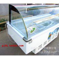 奥爱斯透明展示柜冷藏保鲜柜节能双开展示柜直冷