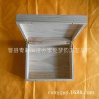 现货供应高档木质茶叶盒 精品原色普洱茶盒  定制批发普洱茶包装