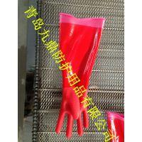 保暖绒里厨房家用防护手套耐油耐酸防水非一次性PVC浸胶耐用低价