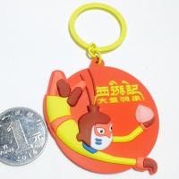 厂家直销新款大圣归来钥匙扣 广告礼品胡巴钥匙扣 可印刷二维码钥匙扣