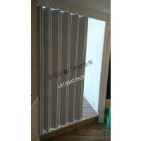 西安室内PVC折叠门铝合金折叠门吊趟门