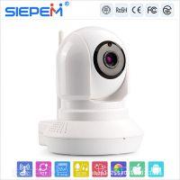 厂家直销无线插卡网络监控摄像头+TF卡监控摄像机+P2P云服务