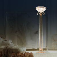 厂家直销 全铜焊锡灯 落地灯 欧式落地灯L0005欧式全铜落地灯