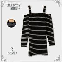 2015春季新款女装外贸原单吊带露肩日系新品高腰连身裙裙子 批发
