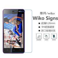法国 WIKO Highway Signs钢化玻璃膜 手机保护前膜 防刮防爆批发