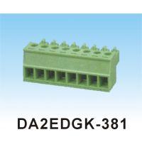 厂家直销DA2EDGK-3.81/3.5间距绿色插拔接线端子