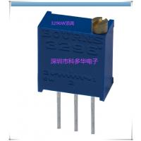 高精密可调电位器3296W-1-202 2K 可变电阻器 VR 原装BOURNS