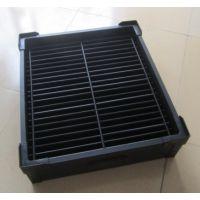定做黑色PP中空板防静电周转箱塑料周转箱生产厂家销售塑料箱抗震缓压
