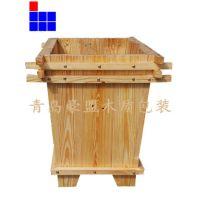青岛木托盘厂家直供松木花箱物美价廉质量好欢迎咨询尺寸可定