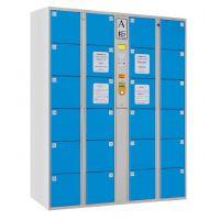 安存AC46-1条码式电子存包柜