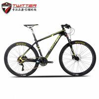 TWITTER骓特自行车生产厂家 禧玛诺30速山地车碳纤维Carbon