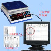 产品数据可连续/时时发送保存在电脑电子秤