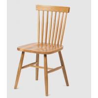 美式乡村实木椅子实木餐椅复古温莎椅休闲餐桌椅 行一家具厂家定制