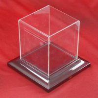 透明方形有机玻璃展示盒   亚克力足球展示盒   蓝球展示盒