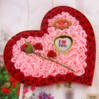 新品推荐 92朵玫瑰香皂花 创意香皂花玫瑰礼盒情人节创意礼物