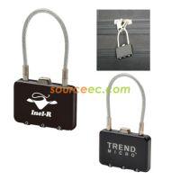 密码锁 行李箱包锁 托运通关海关锁 旅行礼品定制 促销品可印logo