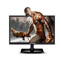 广视角 电脑显示器24寸白色IPS液晶屏 LED超薄高清 黑色可加电视