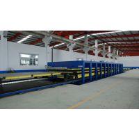 国森机械专业制造聚氨酯玻璃钢车厢板设备
