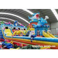 四川省达州市大型蹦床,龙鲨乐园,变色龙大滑梯一个平方多少钱