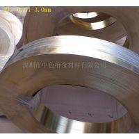 专注铜材20年 供应:H62电子铜带 C2800青铜带