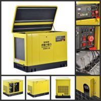 固定厢式15KW自启动汽油发电机