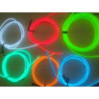 精品推荐 智能发光2米套装 高亮度EL冷光线 EL发光线生产厂家