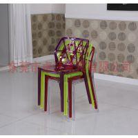供应亚克力椅子,亚克力餐桌椅,亚克力酒吧椅,亚克力塑料椅 AC-009