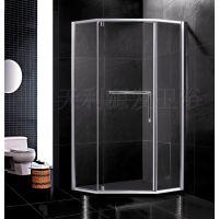 厂家批发供应100%信誉、简易淋浴房、CCC玻璃淋浴房