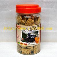 台湾 乡田真 黑芝麻方块酥 350g*12罐/箱