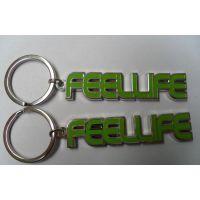 哈尔滨金属钥匙链厂家南京金属字母锁匙扣订做