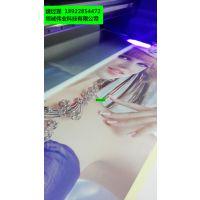 爱普生平板打印机铁皮打印高清图案 金属材质打印机 3d背景墙彩绘喷墨机厂家供应