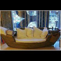 欧式木船|公园观光船|餐饮船|连锁餐饮酒店装饰船|沙发船 贡多拉