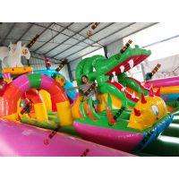 充气城堡室外蹦蹦床 广场大型滑梯海底世界儿童乐园 充气垫攀岩玩具